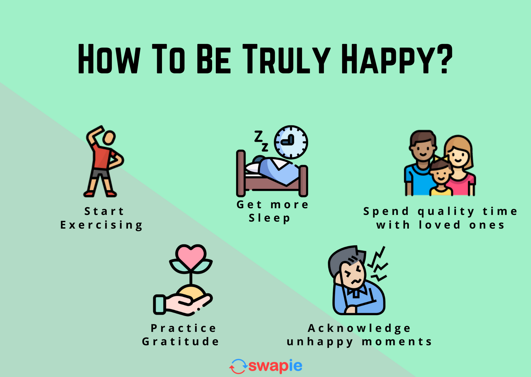 How to be truly happy?