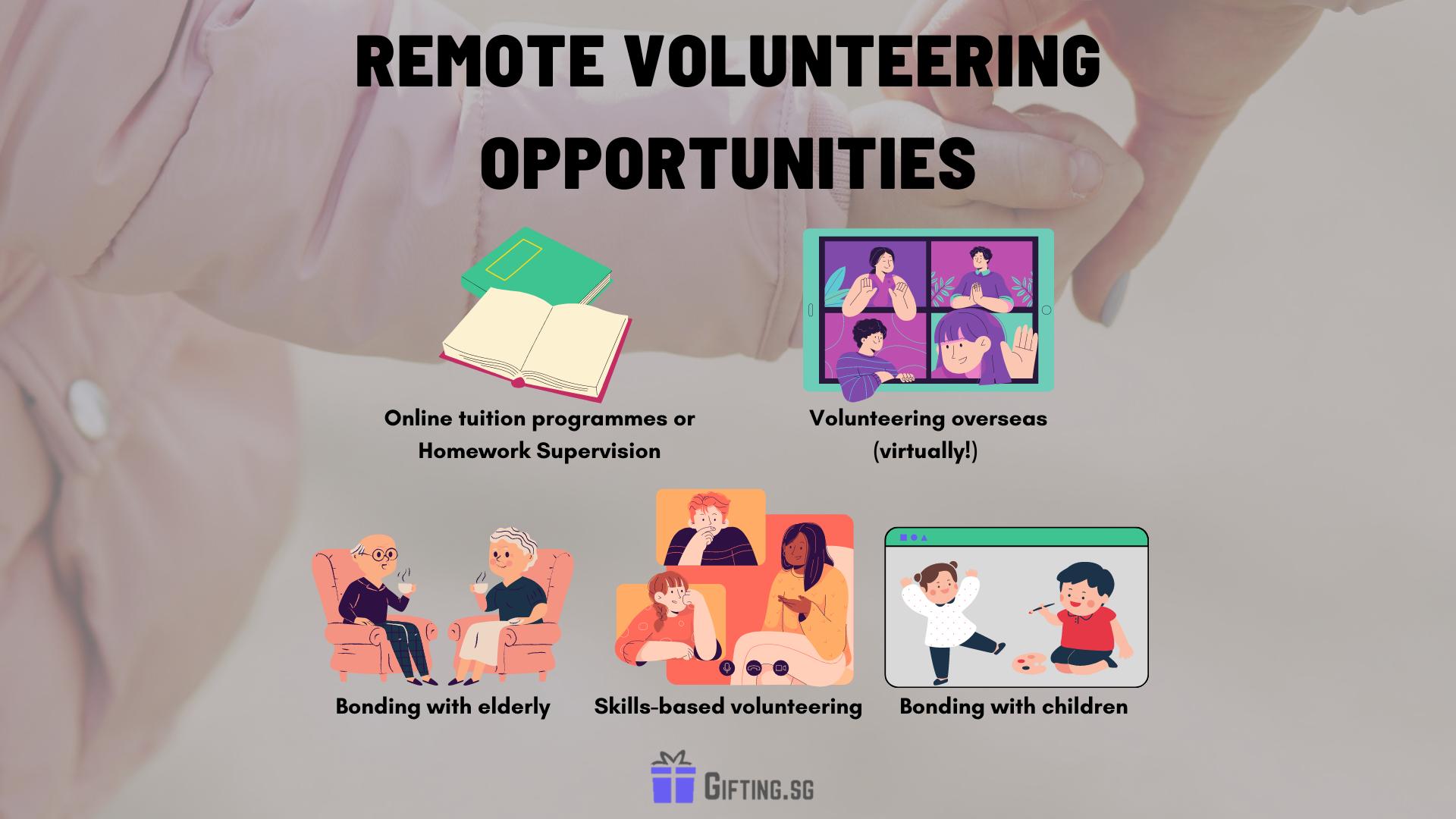 Remote Volunteering Opportunities