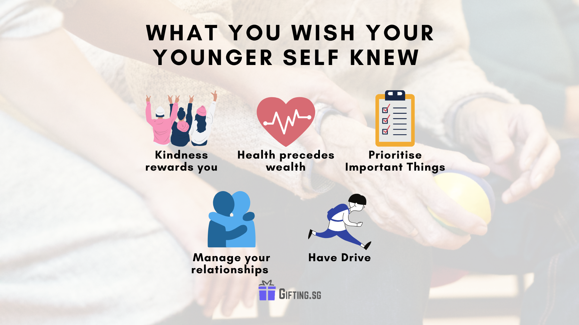 What You Wish Your Younger Self Knew